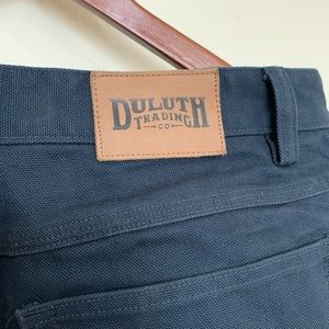 Duluth Trading Men's Firehose pants - NAVY 34x34